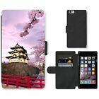 credit card payments over the phone - Phone Card Slot PU Leather Wallet Case For Apple iPhone Tower over the river in