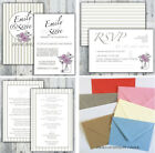 Luxury Personalised Wedding Invitation Day or Evening