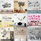 Removable Art Vinyl Quote DIY Dandelion Wall Sticker Decal Mural Home Room Decor