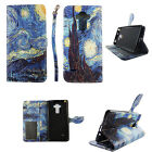 Phone Wallet Case for LG Vista 2  -Leather(PU)-Magnetic-Card Slots-Stands-Strap