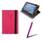 PINK GRAFFITI CASE & STAND FITS 7-7.9* INCH TABLET & OPTIONS CHECK DROP LIST!