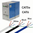 CAT5E CAT6 Cable 1000FT UTP Solid Network Ethernet CAT5 Bulk Wire RJ45 Lan