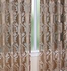 Luxurious MILAWI organza sheer WINDOW TREATMENT window curtain Panel or valance