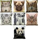 Luxury Digital Printed Cushion Covers With Animal Image
