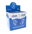 Clinell Antibacterial Hand Wipes - Sanitises Disinfects Cleans Refreshes NEW