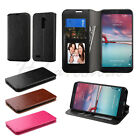 For ZTE Zmax Pro Leather Flip Wallet Case Protective Cover Fold Stand Hybrid