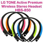 LG Premium TONE Active Bluetooth Wireless Headset HBS-850/Sports/Workout w GIFT