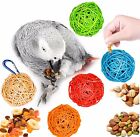 Bird Foraging Vine Balls with Hanging Clip - Assorted Colors