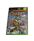 Conker Live & Reloaded Xbox Game Boxed + Manual FREE POST