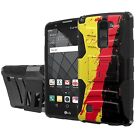 [LG Stylo 2 Plus]  Defender Armor Case Holster Kickstand Screen Protector - G