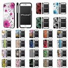 """For Apple iPhone [7] [Slim Cover Case] [4.7"""" Screen Size]  Design [D]"""