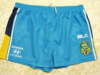 Gold Coast Titans On Field Football Shorts  NRL Rugby League - Half Price