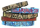 Personalized Webbing Dog Collars with 1 logo for Military-Ships under 24 HRS!