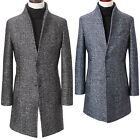 New Fashion Mens TI Bokashi China Collar Coat Blazer Jacket Jumper Outwear E008