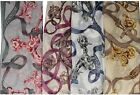 LADIES SWIRL PATTERNED SCARFS 91300