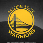 "Golden State Warriors Vinyl Decal Sticker - 4"" and Larger - 30+ Color Options! on eBay"