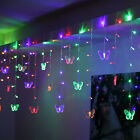 Kyпить 95 Butterfly LED String Curtain Lights Colorful Wedding Children Room Decor Lamp на еВаy.соm