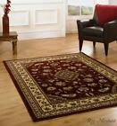 Sincerity Sherborne Cheap Red Traditional Rugs