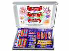 Happy 40th Birthday Personalised Chocolate or Retro Sweets Selection Gift Hamper