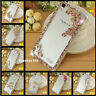 Glitter Bling Diamonds Crystal Hard clear PC Back Phone Case Cover for ASUS