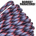 Die Cast - 550 Paracord Rope 7 strand Parachute Cord 10 25 50 100 ft