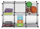 Mini grid storage organizer 2x3