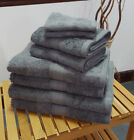 Charcoal 500 GSM Bobble Towels (Face Hand, Bath Towel and Bath Sheet Available)