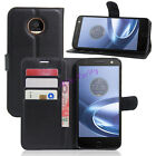 New Luxury Flip Stand PU Leather Cover Wallet Case for Motorola Moto Phones