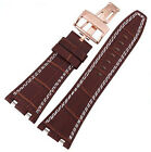 28MM LEATHER STRAP BAND FOR 42MM AUDEMARS PIGUET ROYAL OAK OFFSHORE