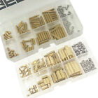 M2 M2.5 M3 Brass Spacer Male Female Standoff Screw Nut Assortment Kit