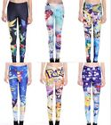 New Lovely Pokemon Cartoon pattern Printed Fitness Sport Leggings Size S-4XL