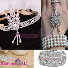1920s 20s Bracelet Vintage Bridal Great Gatsby Costume Headpiec Accessorries