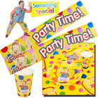 OFFICIAL BBC SOMETHING SPECIAL KIDS PARTY SET BALLOONS BANNER PLATES MR TUMBLE