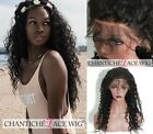 Remy Human Hair Lace Front Curly Wigs For Black Women Brazilian Full Lace Wig 6A