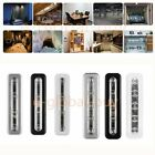 New LED Night Light Press Bar Push On For Kitchen Cupboard Cabinet Battery 6000K