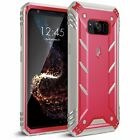 For Galaxy S8 Plus / S8 Poetic Shockproof Cover Case w/Built-in Screen Protector