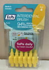 TEPE YELLOW INTERDENTAL BRUSHES SIZE 2 6 PCS 0.7mm