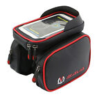 SAVA Waterproof Cycling Frame Bags Head Front Top Tube Pannier Double Pouch Bag