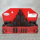 58 PIECE CLAMPING TOOL KIT SET-Sizes M8, M10 or M12- MILLING DRILLING MILL DRILL