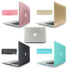 "Rubberized Hard Case Keyboard Cover for MacBook Air Pro Retina 11 12 13 15"" inch $11.99 USD"