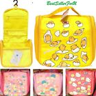 Sanrio Hanging Cosmetic Storage Bag Travel Organizer Case Holder Tote Pouch