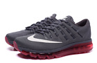 NIB MENS NIKE AIR MAX 2016 Running Shoe 806771 016 Grey Red