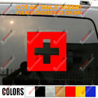 Flag of Switzerland Swiss Flag Car Decal Sticker