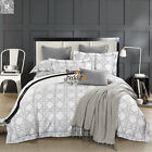 Duvet/Doona/Quilt Cover Set Queen/King Size Long-Staple Cotton Flat Sheet Set