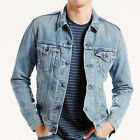 Mens Levis Icy Denim Trucker Jacket