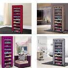 10 Tier Shoes Cabinet Storage Organiser Shoe Rack Shelf Stand Holds 27 Pairs