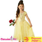 Licensed Belle Princess Disney Girls Child Kids Beauty And The Beast Costume