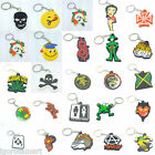 Smiley Happy Face / Betty Boop / Frog / Dog / Skul Bag Rubber Key Ring Keychain $3.06 USD