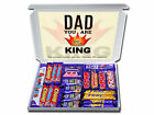 FOR DAD Personalised Gift Hampers For BirthdayS Thank You KING DAD ANY OCCASION