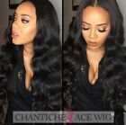 Brazilian Body Wave Full Lace Wig Human Hair Lace Front Wigs For Black Women 6A